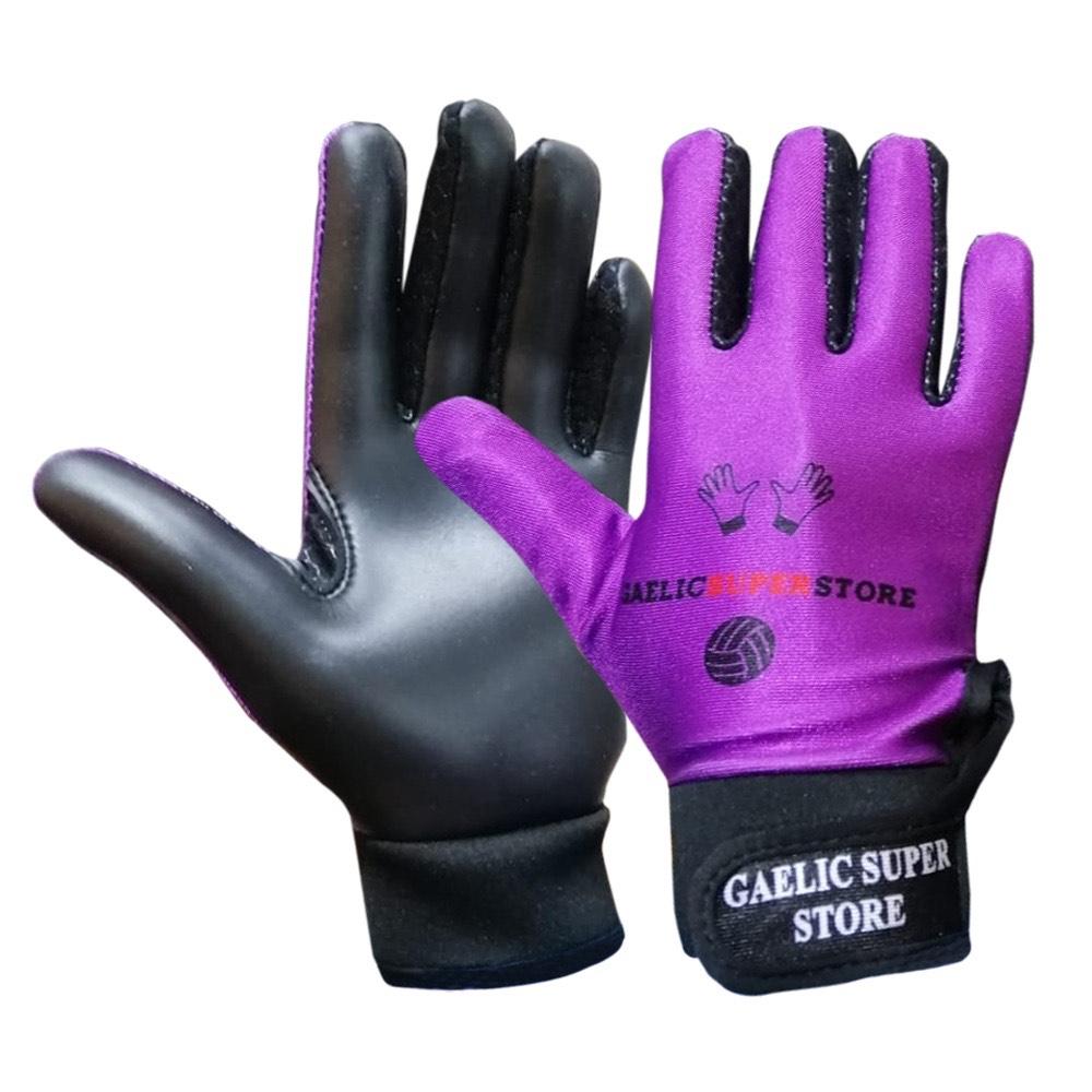 Purple Gloves