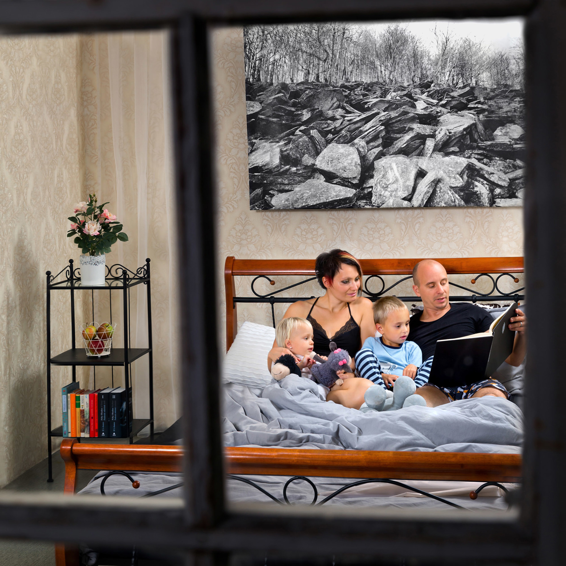 Tématický rodinný portrét.