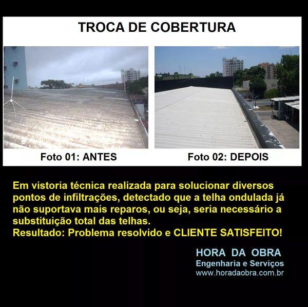 TROCA DE COBERTURA