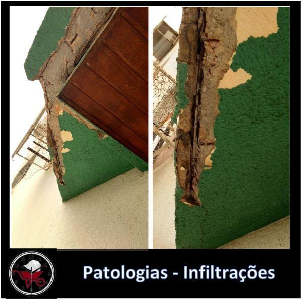 VISTORIA TÉCNICA / PATOLOGIA - INFILTRAÇÕES