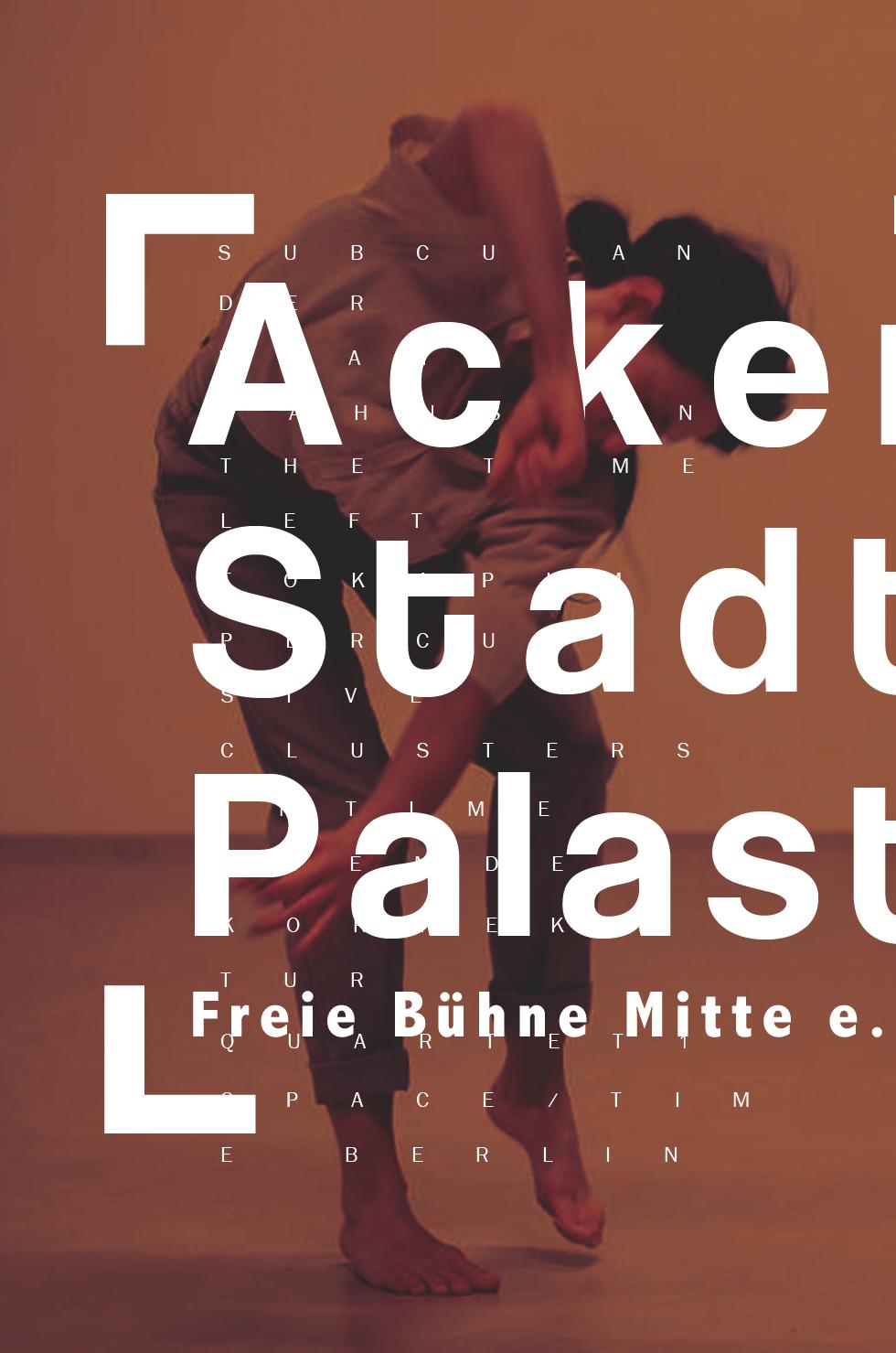 Acker Stadt Palast