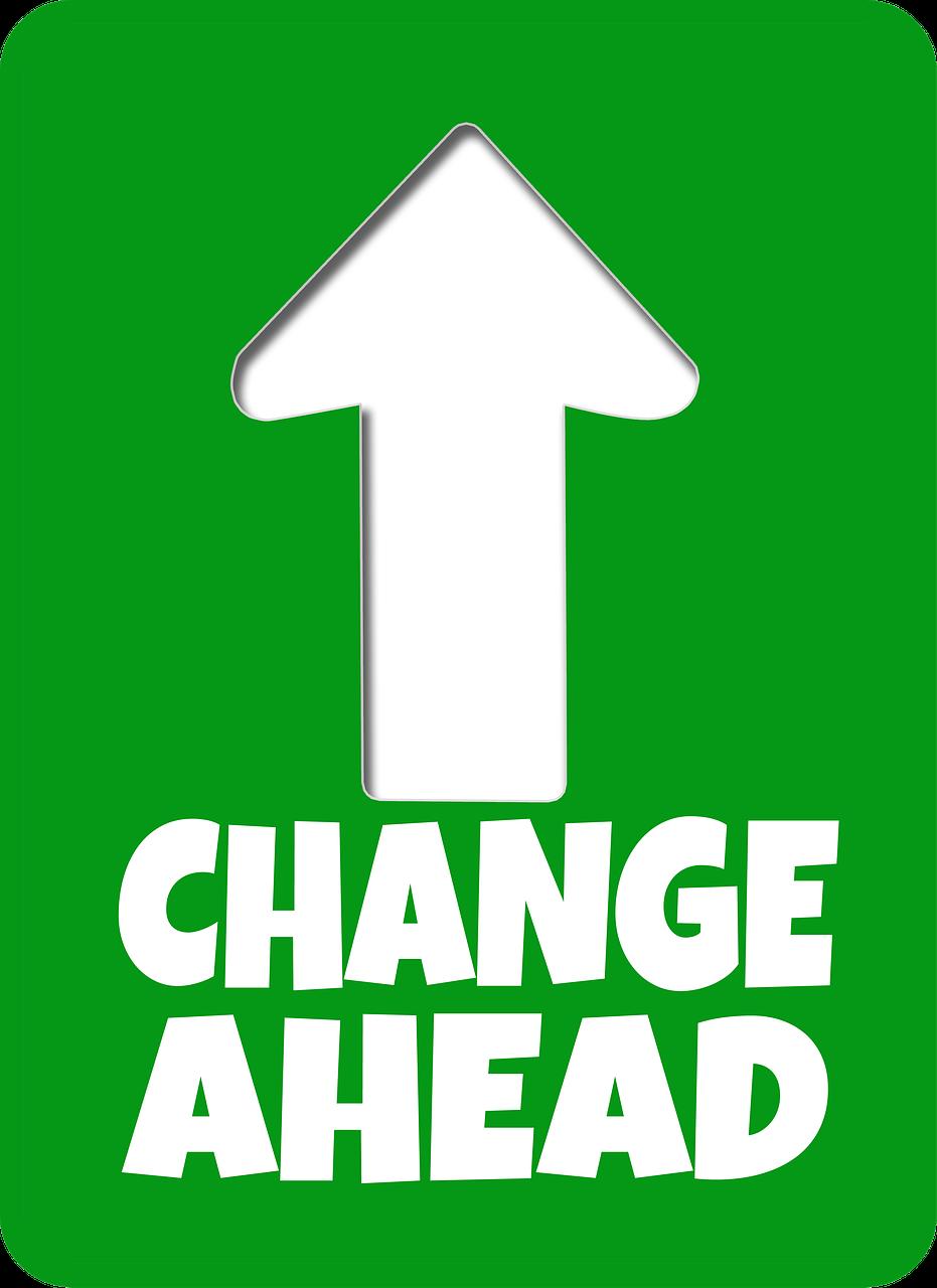 road-sign-change
