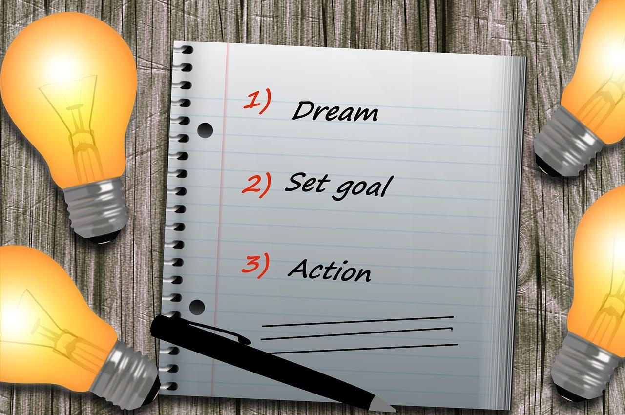 Dream-Set-Goal-Action