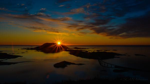 Sommarøy, Midnight Sun