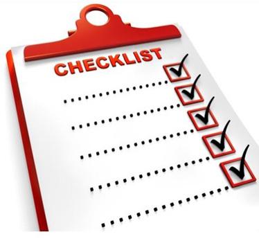 10 year Checklist