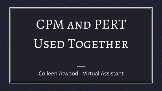 PERT and CPM Used Together