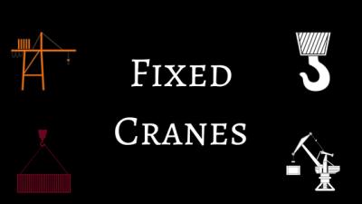fixed cranes