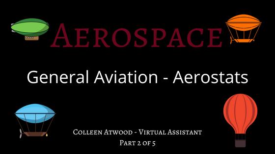 aviation, aerostats