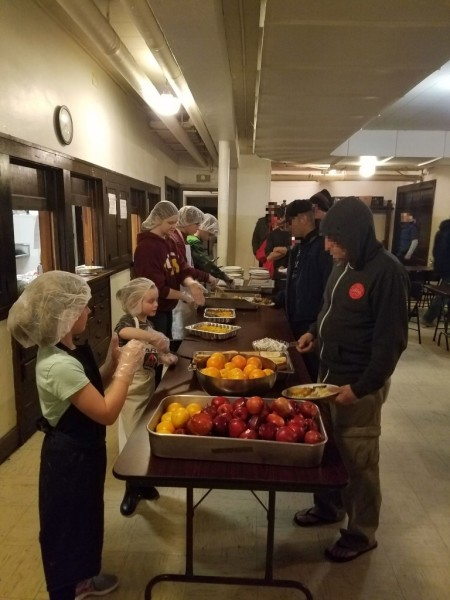 Simpson House Meal Serving