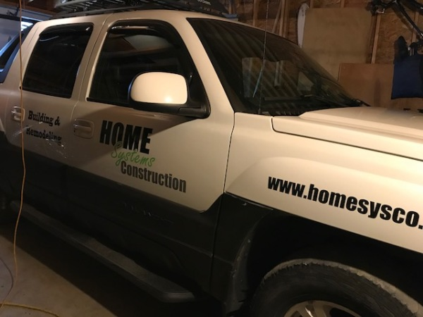 New Vinyl Lettering 'In House'