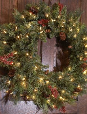 Pre-lit Wreath