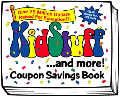 Buy our coupon books!