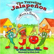 The Traveling Jalapenos visit Marie's Garden