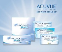 Contact 1 day acuvue provided boxes