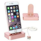 Top rated smartphones isolated pink wireless charger