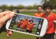 Glamorous cheap smartphones detected kids photo