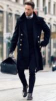 Discount designer handbag brands handed black dressed man