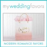 Nice wedding favors researched pink basket