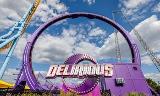 Circular giant outdoor games identified kids attractions