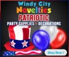 Attractive party supplies identified decorations