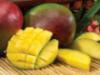 Elegant flower fruit inspired mango