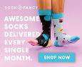 Clean stance socks analyzed feet
