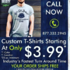 Innovative custom t shirts convinced website offer