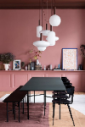warm dining room sets perceived table and accessories