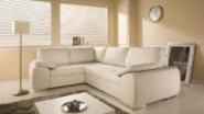 Designed light sofa delivered home