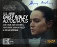 Cute autographed photos encouraged woman face
