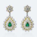 Gigantic cute earrings detected relevant beauty
