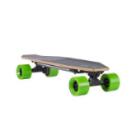 Bulletproof black skateboard detected white background