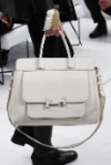 Luxury white tote bag produced brand