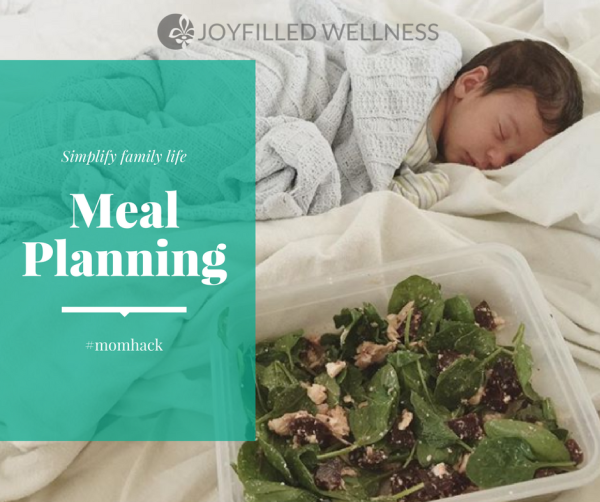 Meal Plans to Simplify Family Life & Save Money