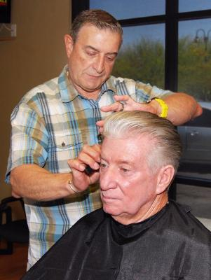Sal is a easily recognizable face in the Fountain Hills community. The former owner of Mama's Italian Kitchen has been in the hair business for over 40 years.  He previously owned and operated a hair salon of over 30 employees in Chicago.