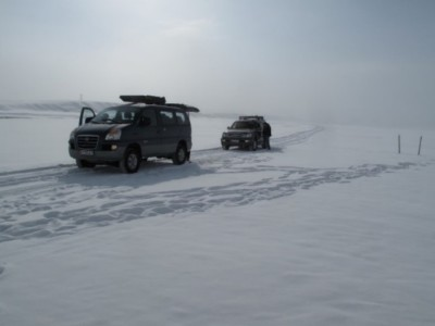Winter Expedition to KG