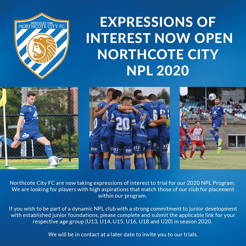 NPL 2020 - Expressions of Interest