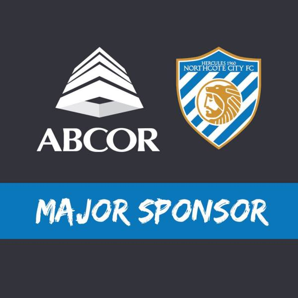 Abcor to be Northcote City's Major Sponsor in 2018