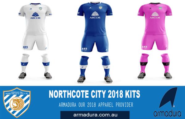 ARMADURA - NORTHCOTE CITY'S 2018 APPAREL PROVIDER