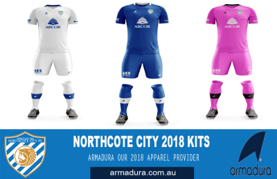 ARMADURA - NORTHCOTE CITY'S 2018 APPAREL PROVIDER
