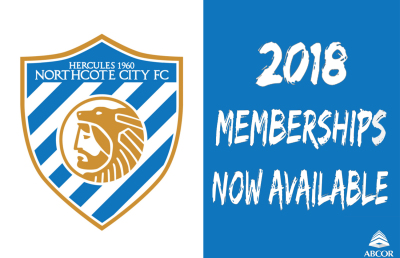 2018 MEMBERSHIPS NOW AVAILABLE