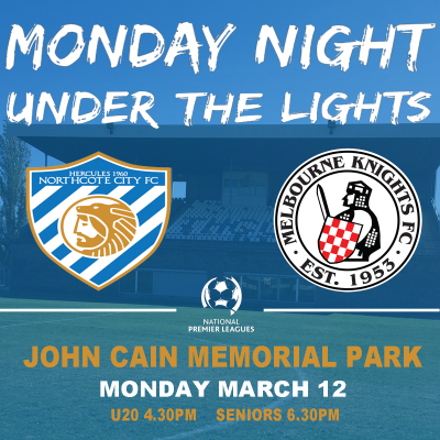 MONDAY NIGHT UNDER THE LIGHTS - NCFC v MKFC