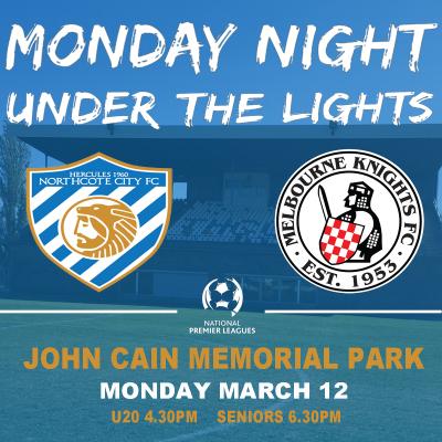 MONDAY NIGHT UNDER THE LIGHTS - NCFC v MKFC