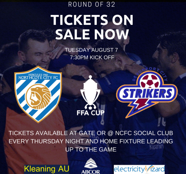 HISTORIC FFA CUP CLASH TICKETS NOW ON SALE