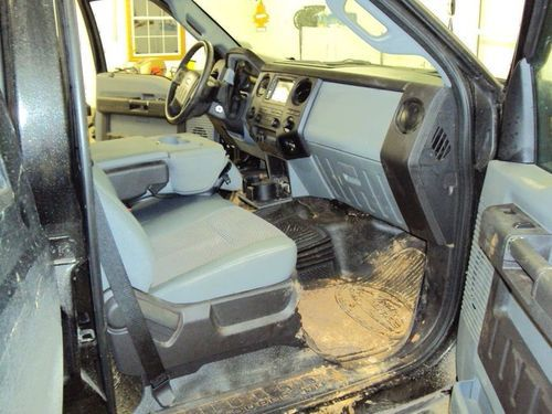 Interior Work Vehicle - Before