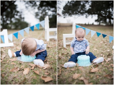 Cole & Cameron {Baton Rouge Smash Cake Photographer}