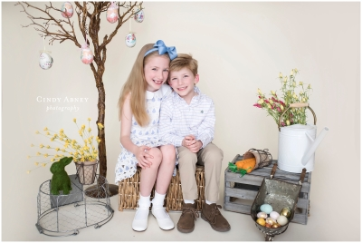 Easter Minis {Baton Rouge Child Photographer}