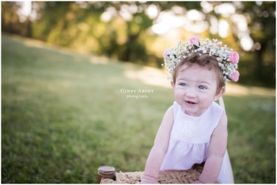 Margaret Grace {Baton Rouge Smash Cake Photographer}