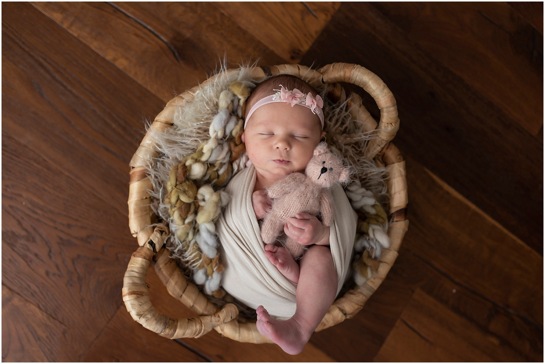 Evelyn {Baton Rouge Newborn Photographer}