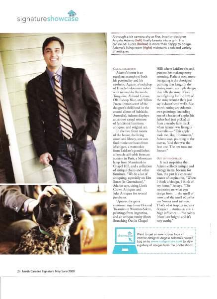 North Carolina Signature magazine